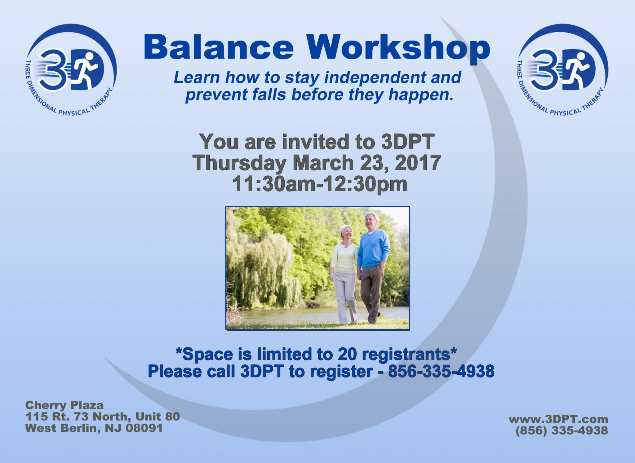 Balance Workshop Flyer