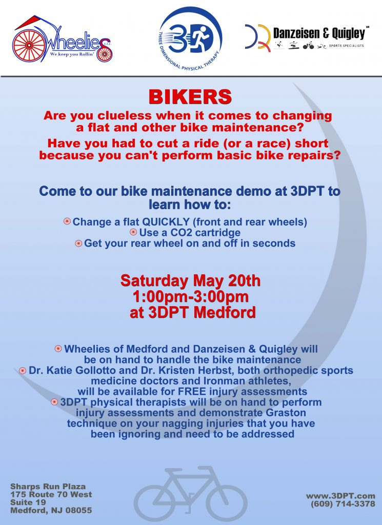 Bike Maintenance Event Flyer