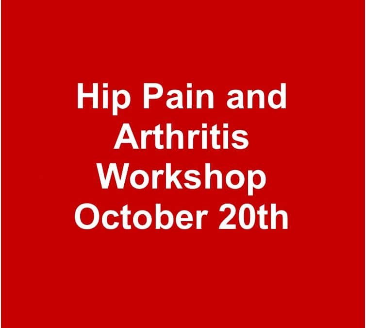 Hip Pain and Arthritis Workshop