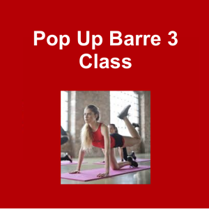 3DPT Pop Up Barre 3 class