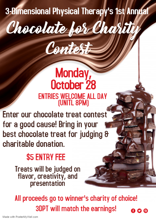 3DPT Chocolate day 10.28 flyer