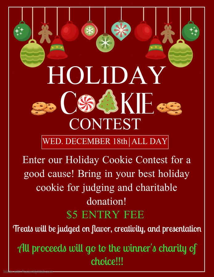 3DPT Holiday Cookie Contest 2019