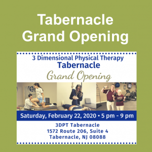 3DPT Tabernacle Grand Opening Event