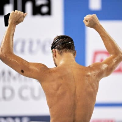 Why is shoulder pain common in swimmers?