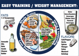 weight management plate