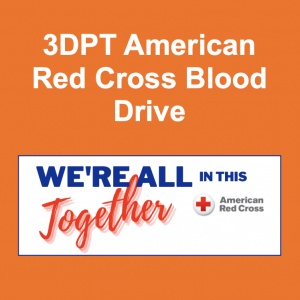 3DPT American Red Cross Blood Drive