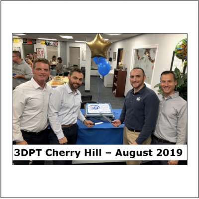 Happy birthday 3DPT Cherry Hill