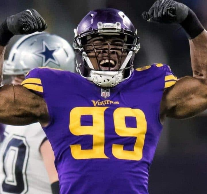 Week 8:  Danielle Hunter