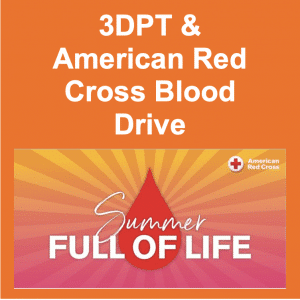 3DPT & American Red Cross Blood Drive
