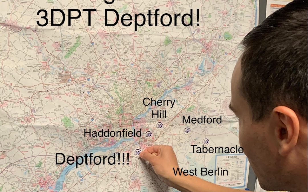 Family first: My journey to 3DPT Deptford